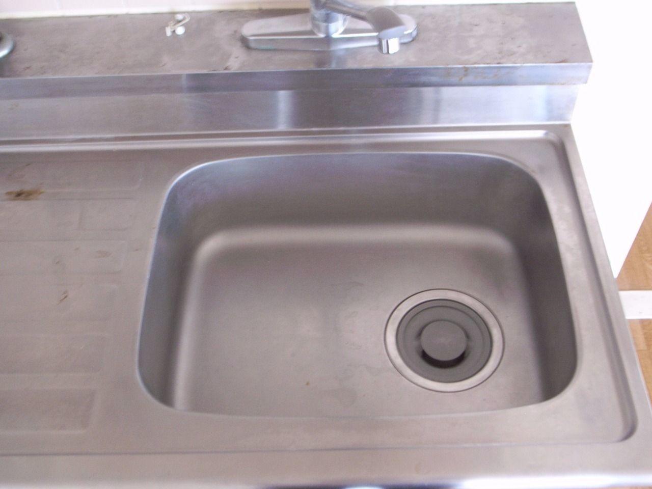 使いやすいシングルレバータイプの混合水栓