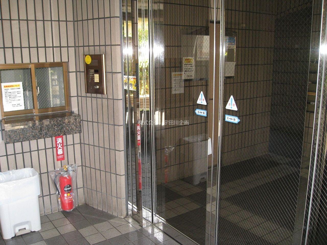 防犯対策されているオートロックドア