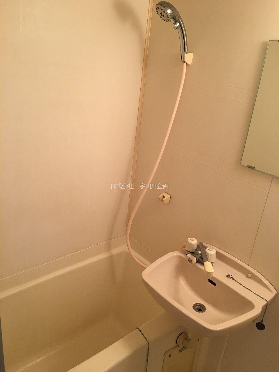浴室内シャワー