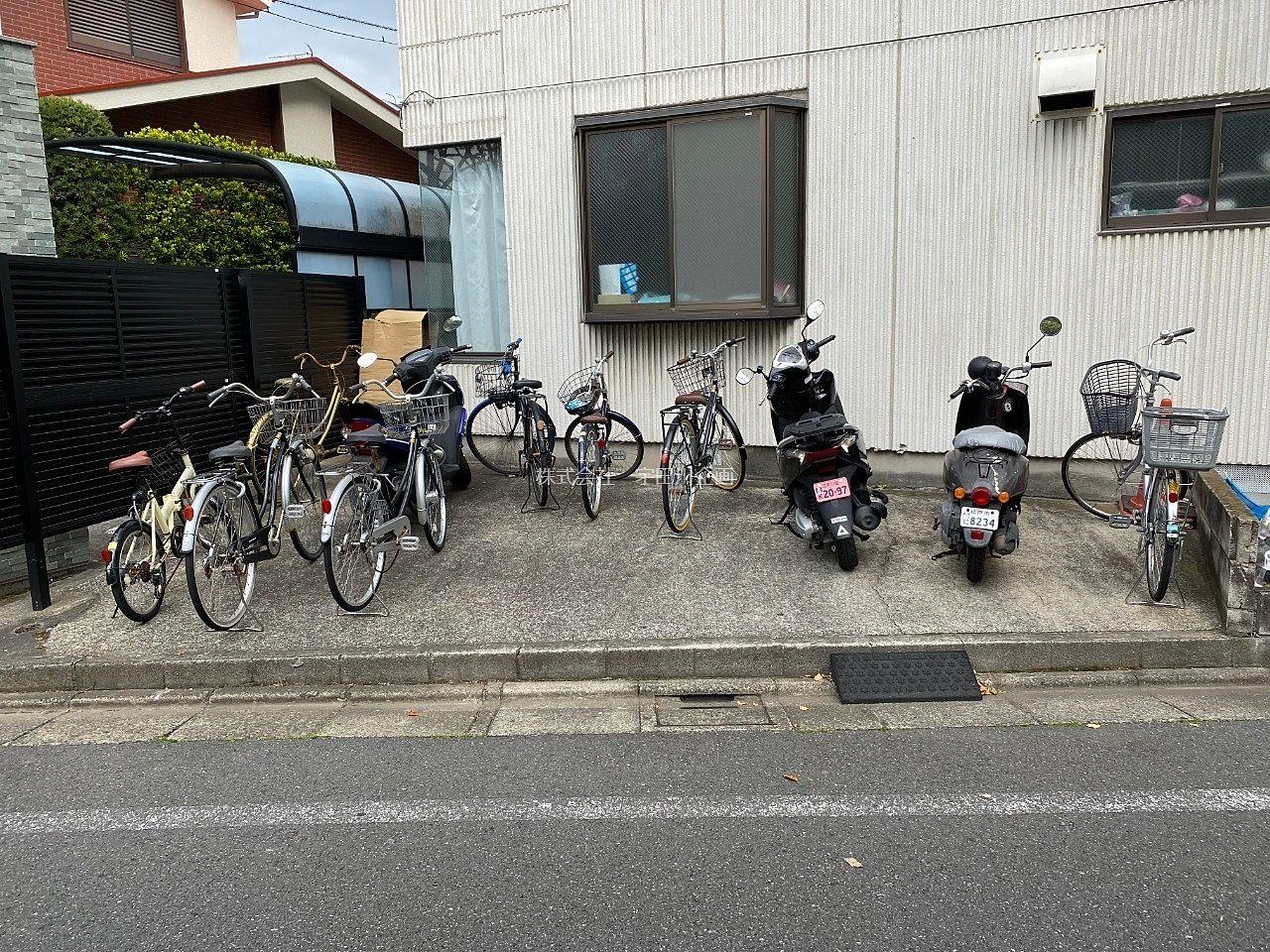 入居者専用の駐輪場