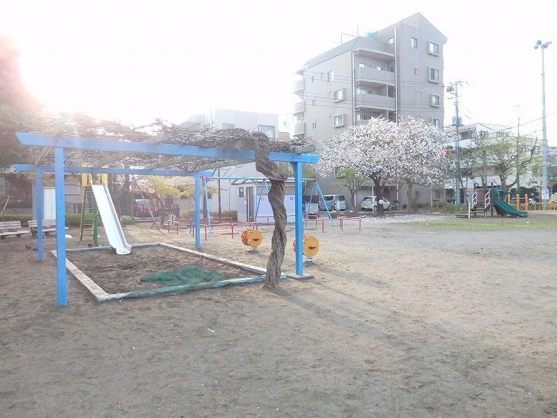 春には桜、夏には夏祭り、と春夏秋冬楽しめる公園です。