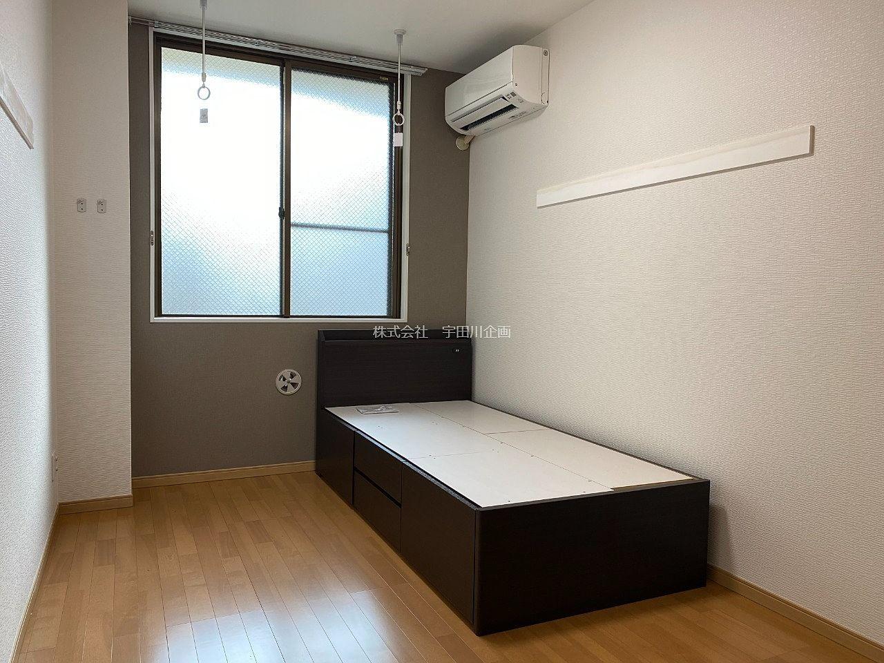 【フルリフォームされたワンルーム】ジェントリーム108号室 1R 葛西駅 ベッド付き 宅配ボックス新設