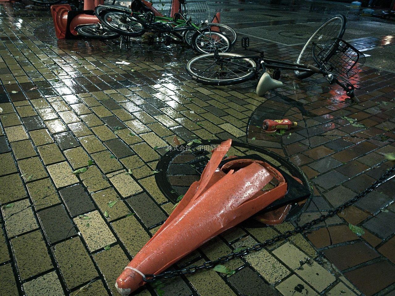 台風16号が発生しています