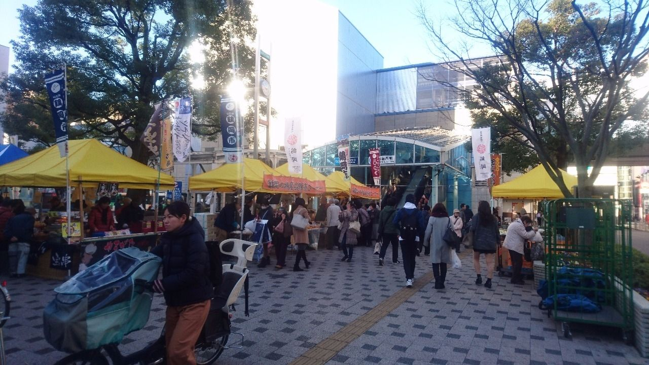 西葛西駅「鶴岡の観光と物産展」